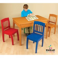 KidKraft Euro Honey Kids 5 Piece Table and Chair Set ...