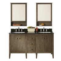 "Ronbow Sophie 24"" Double Bathroom Vanity Set with Mirror ..."