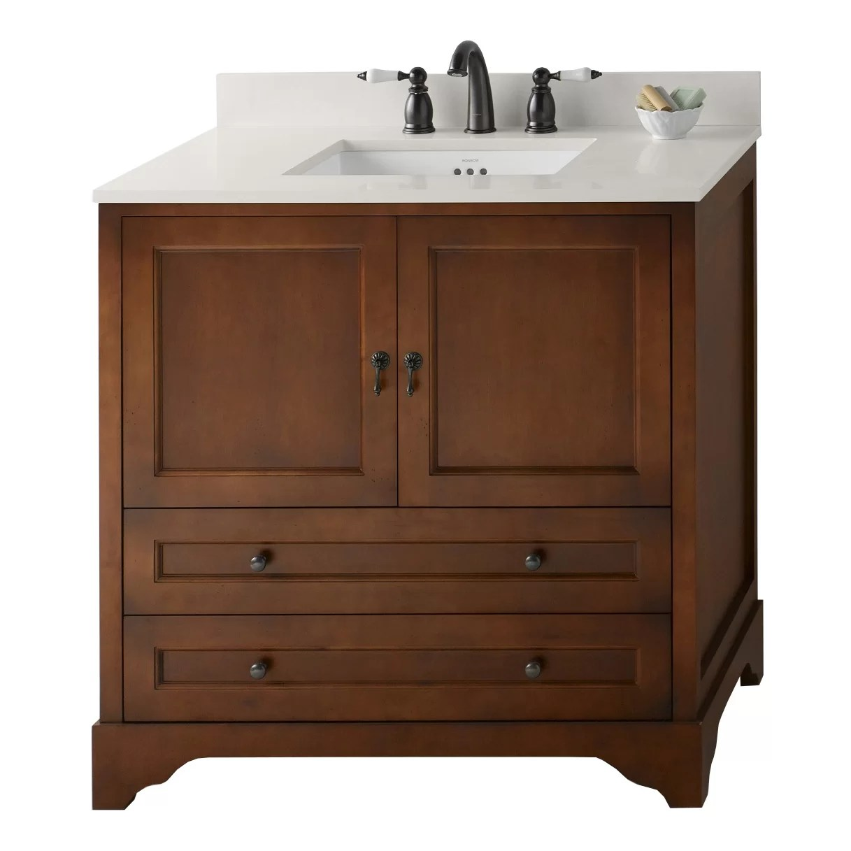 Ronbow Milano 36 Single Bathroom Vanity Set  Wayfair