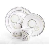 Livliga Vivente Portion Control 4 Piece Dinnerware Set ...