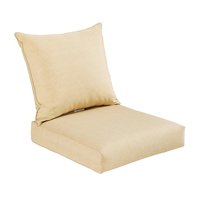 one piece patio chair cushions bean bag target australia bossima 2 outdoor deep seat cushion set and reviews