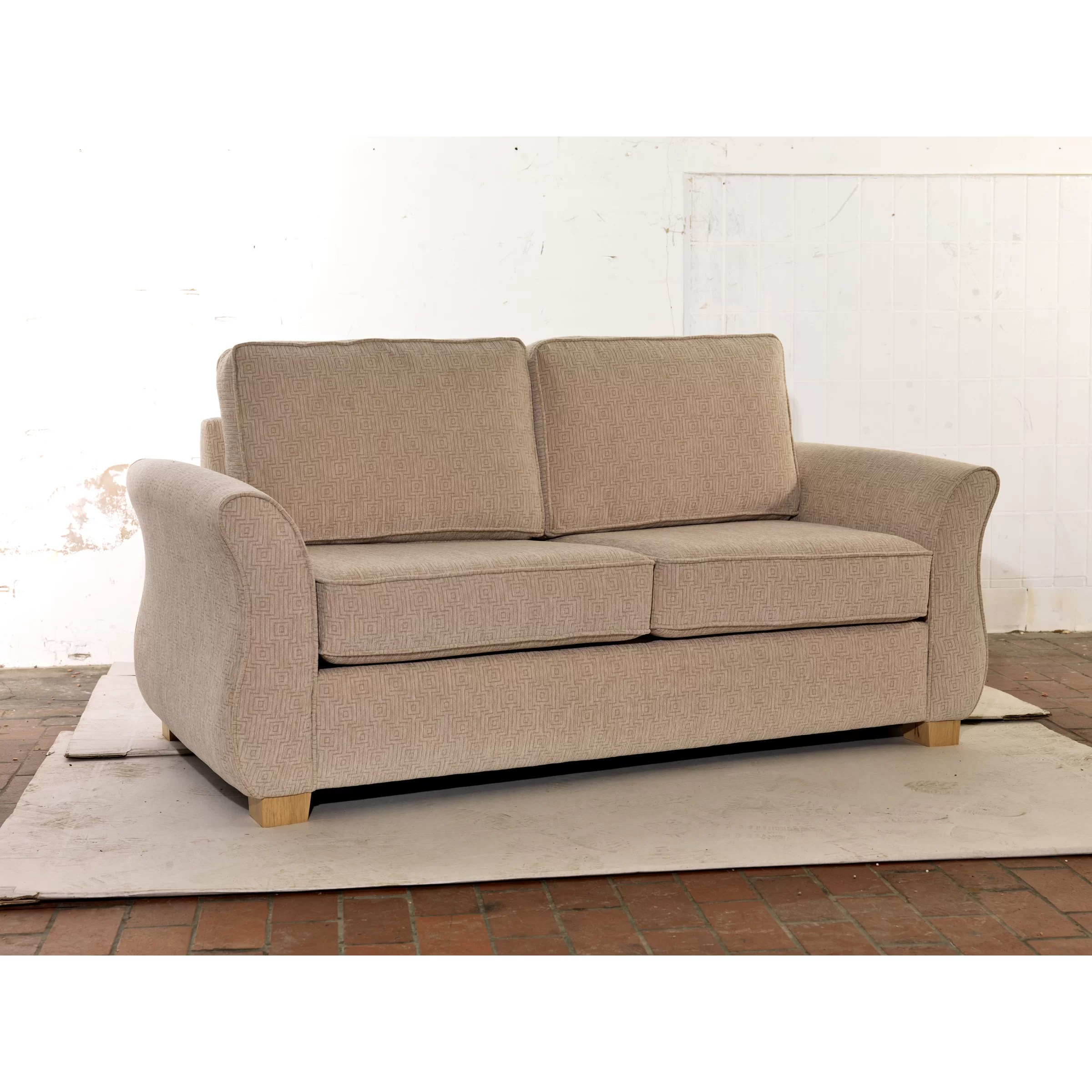 fold out sofa bed uk contemporary sectional with chaise icon design egginton 2 seater wayfair