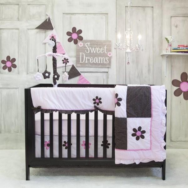 Pam Grace Creations Pam' Petals 10 Piece Crib Bedding Set