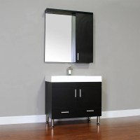 "Alya Bath Ripley 36"" Single Modern Bathroom Vanity Set ..."