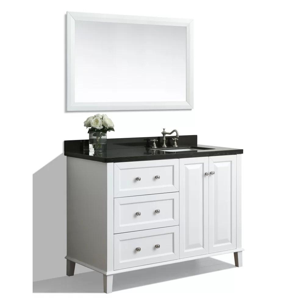 Ancerre Designs Hannah 48 Single Bath Vanity Set with