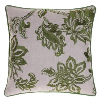 14 Karat Home Inc. Embroidered French Country Throw Pillow ...