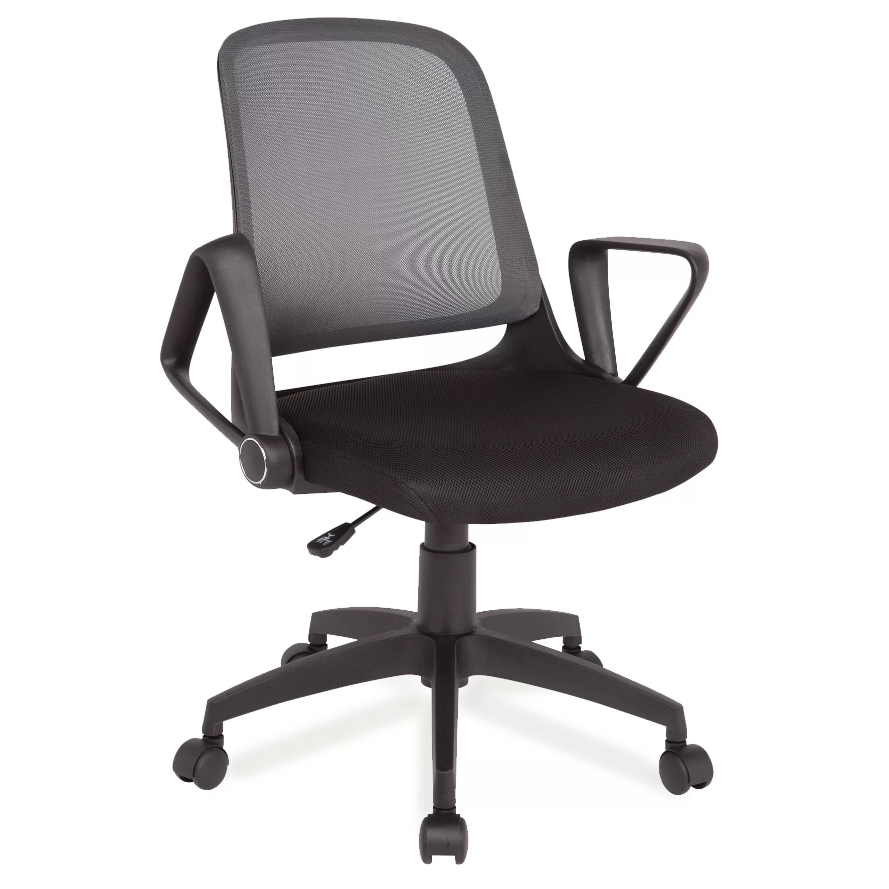 Office Chair With Arms Leick High Back Mesh Office Chair With Arms And Reviews