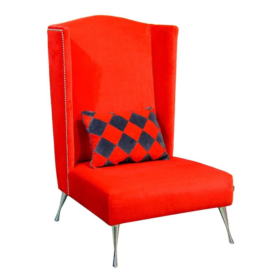 HappyBarok Dandys Wingback Chair  Wayfair UK