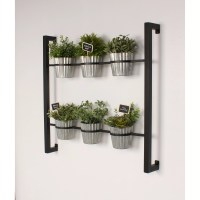 Kate and Laurel Groves 7 Piece Rectangular Wall Mounted