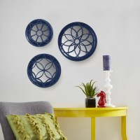 Kate and Laurel 3 Piece Hanging Mirror Wall Decor Set ...