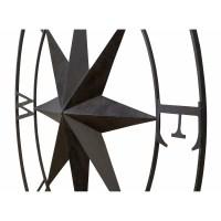 BayAccents Antique Metal Compass Rose Wall Decor & Reviews ...