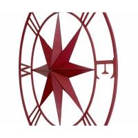 BayAccents Antique Metal Compass Rose Wall Dcor & Reviews ...