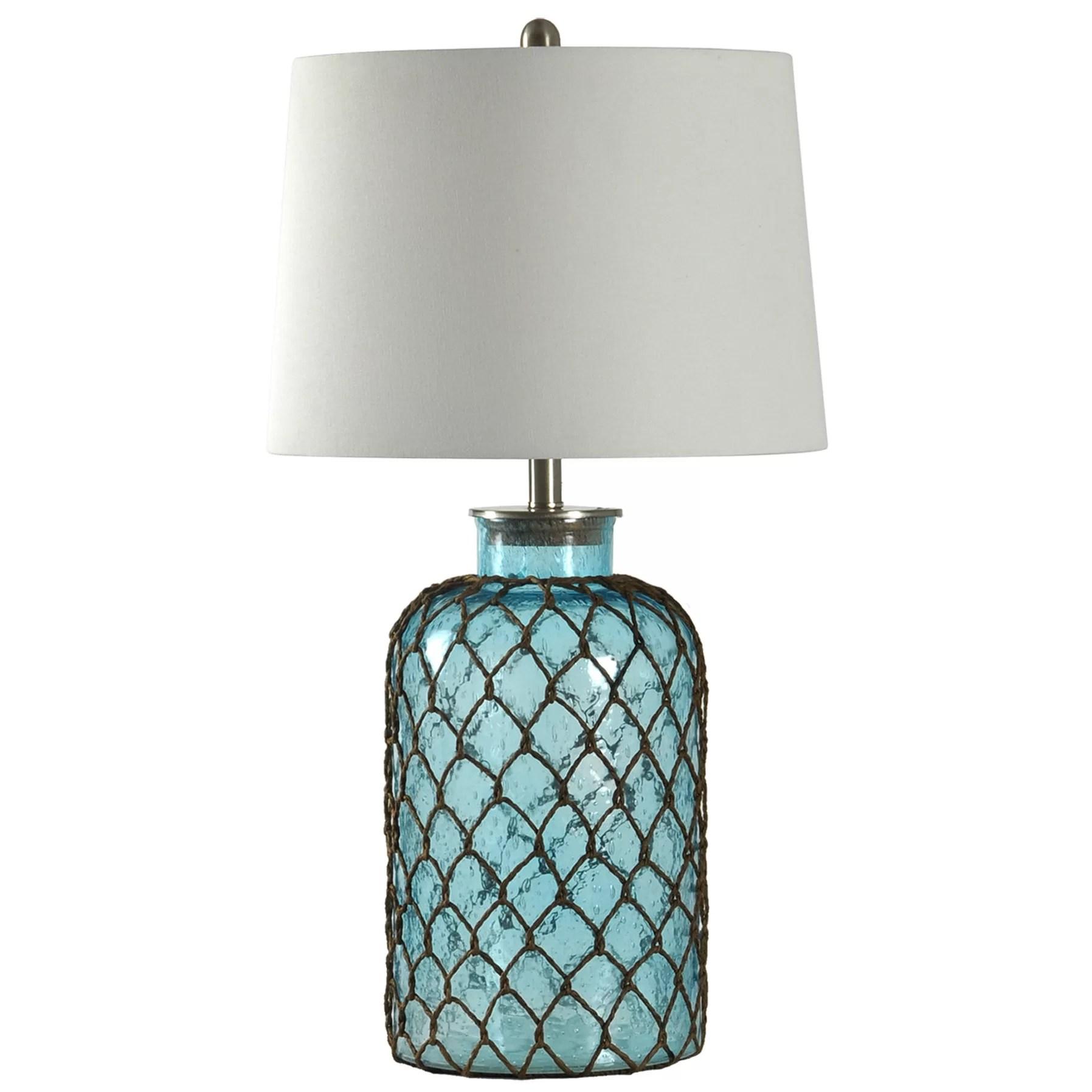 "Breakwater Bay Belvidere Nautical Net 30"" Table Lamp"