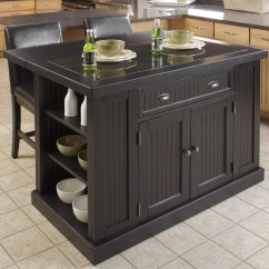 Granite Top Kitchen Island Handmade Sinks Breakwater Bay Gouldsboro 3 Piece Set With