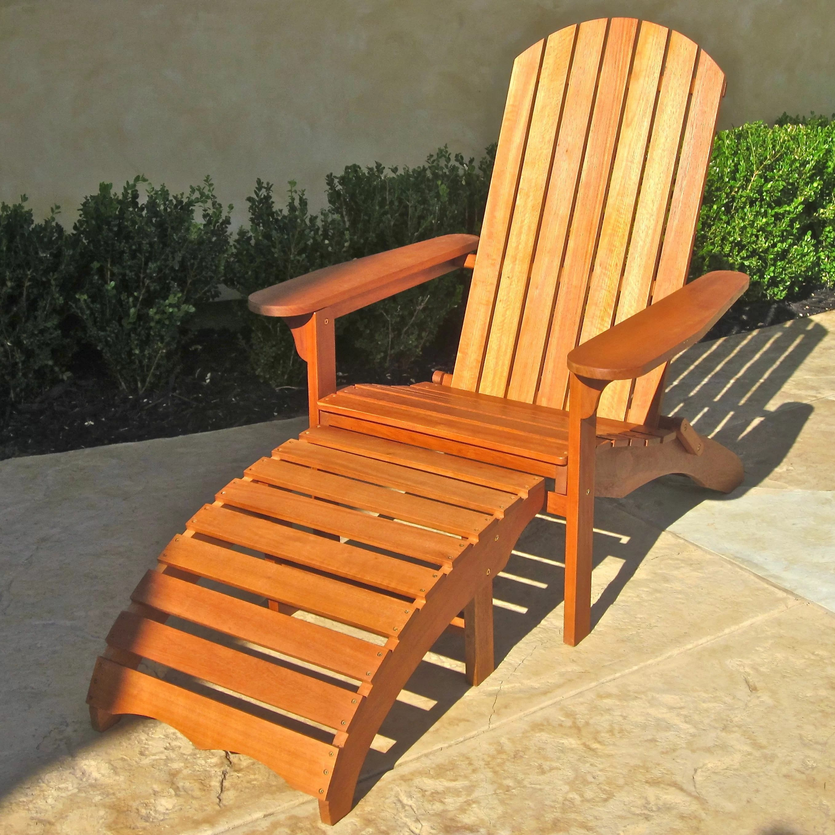patio chairs with footrests steelcase gesture chair review breakwater bay sabbattus adirondack footrest