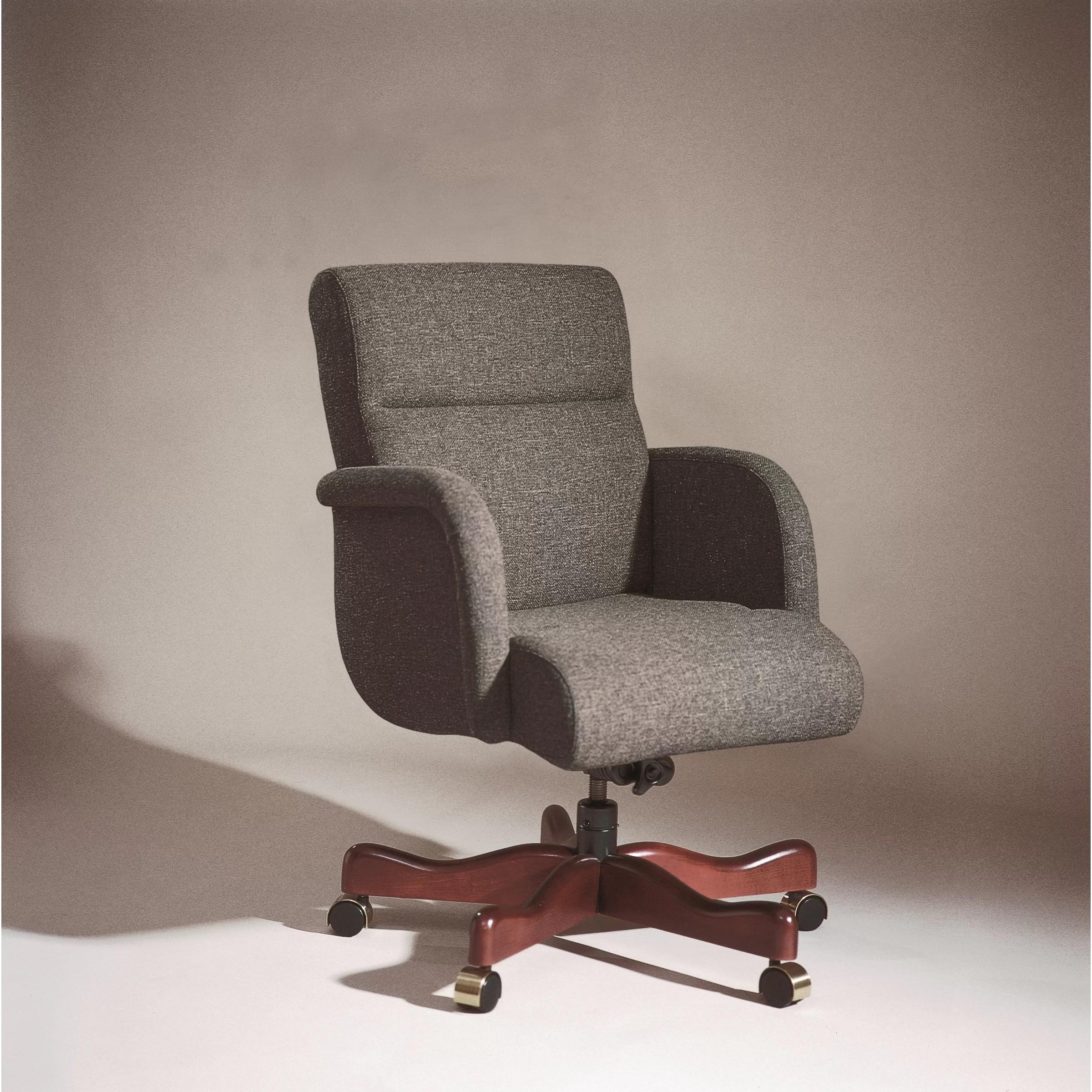 low back office chair foldingchairsandtables triune business furniture executive wayfair