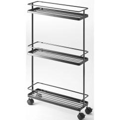 Kitchen Storage Cart Rehab On A Budget Yamazaki Usa Tower Rolling And Reviews