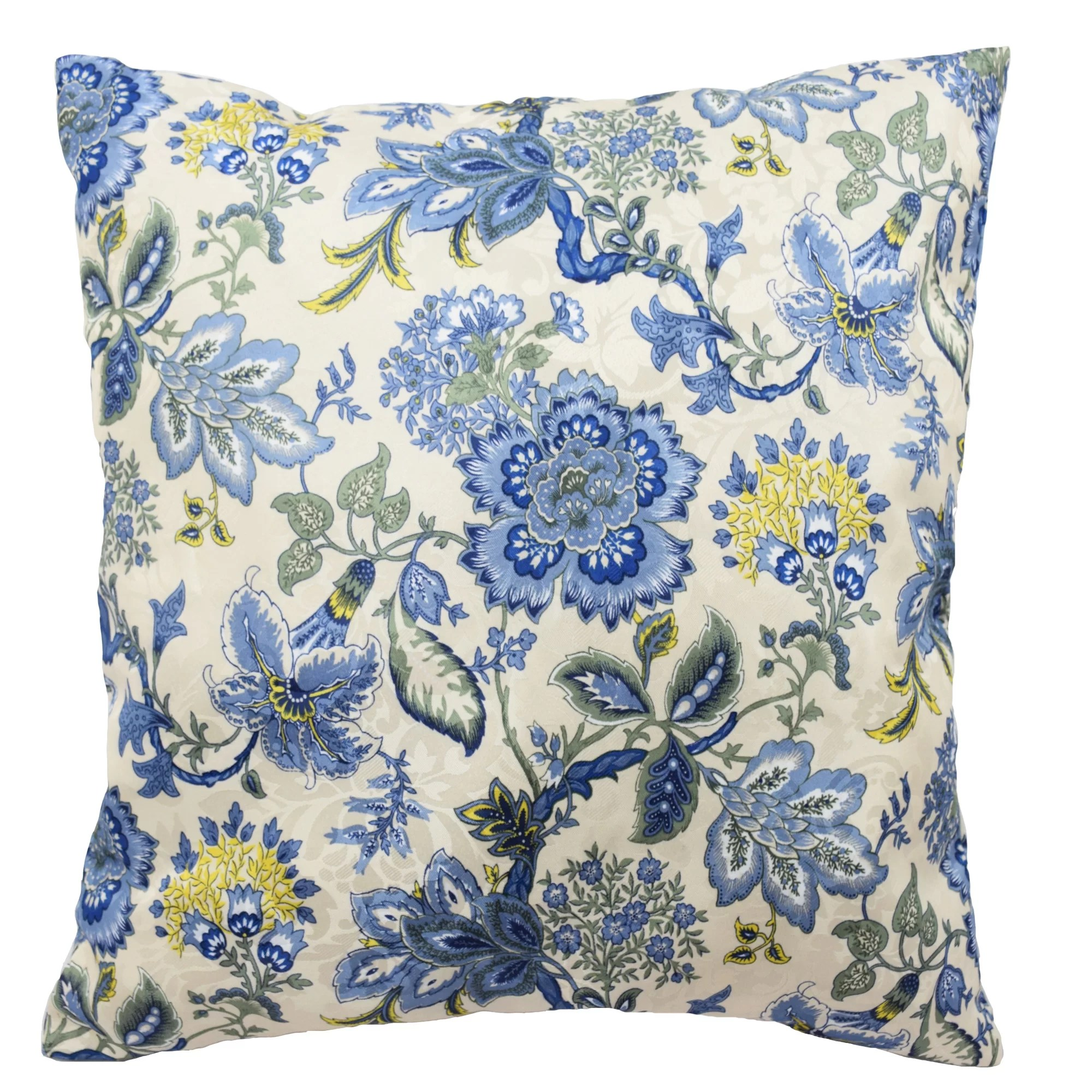 Traditions by Waverly Navarra Floral Decorative Throw
