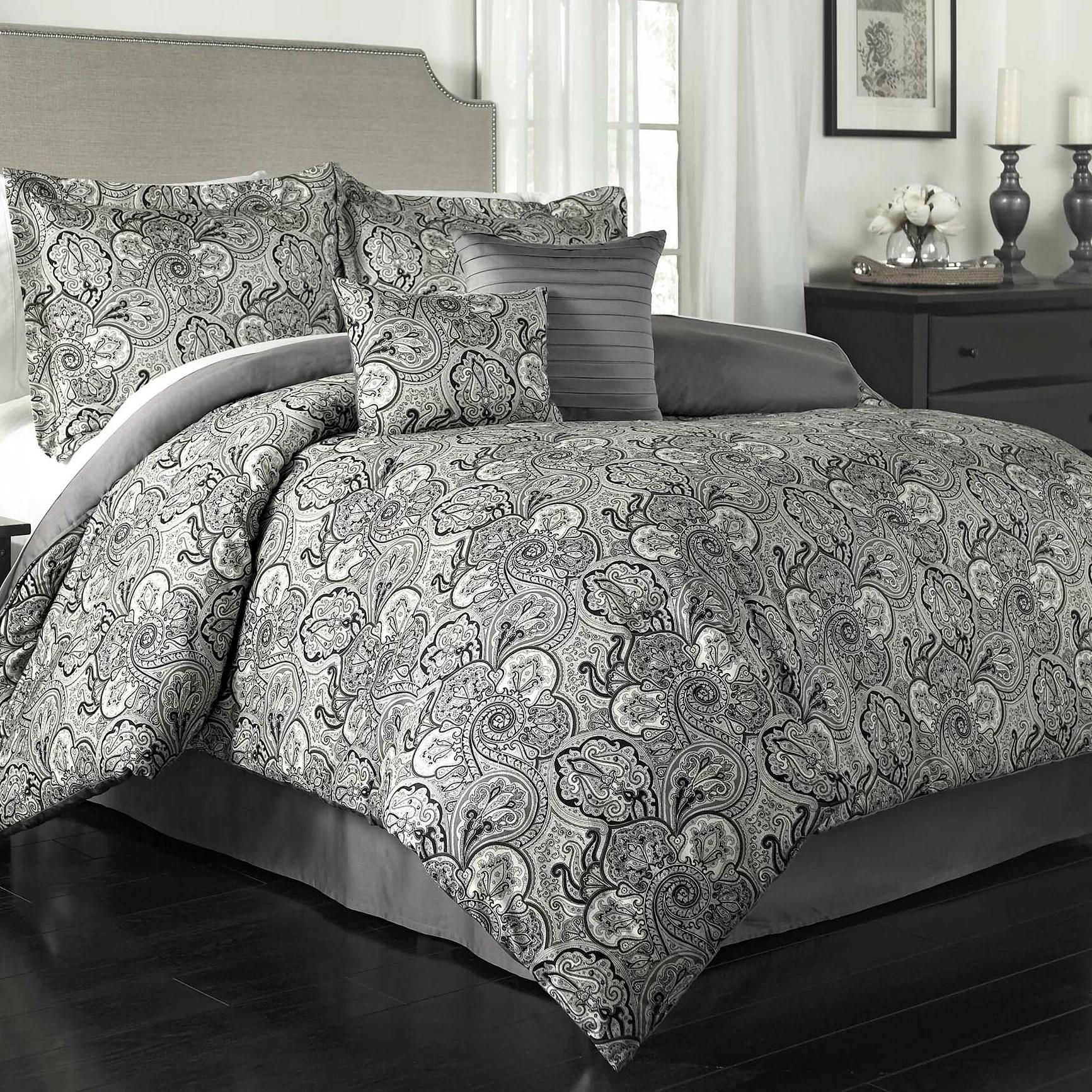 Traditions by Waverly Paddock Shawl 6 Piece Comforter Set