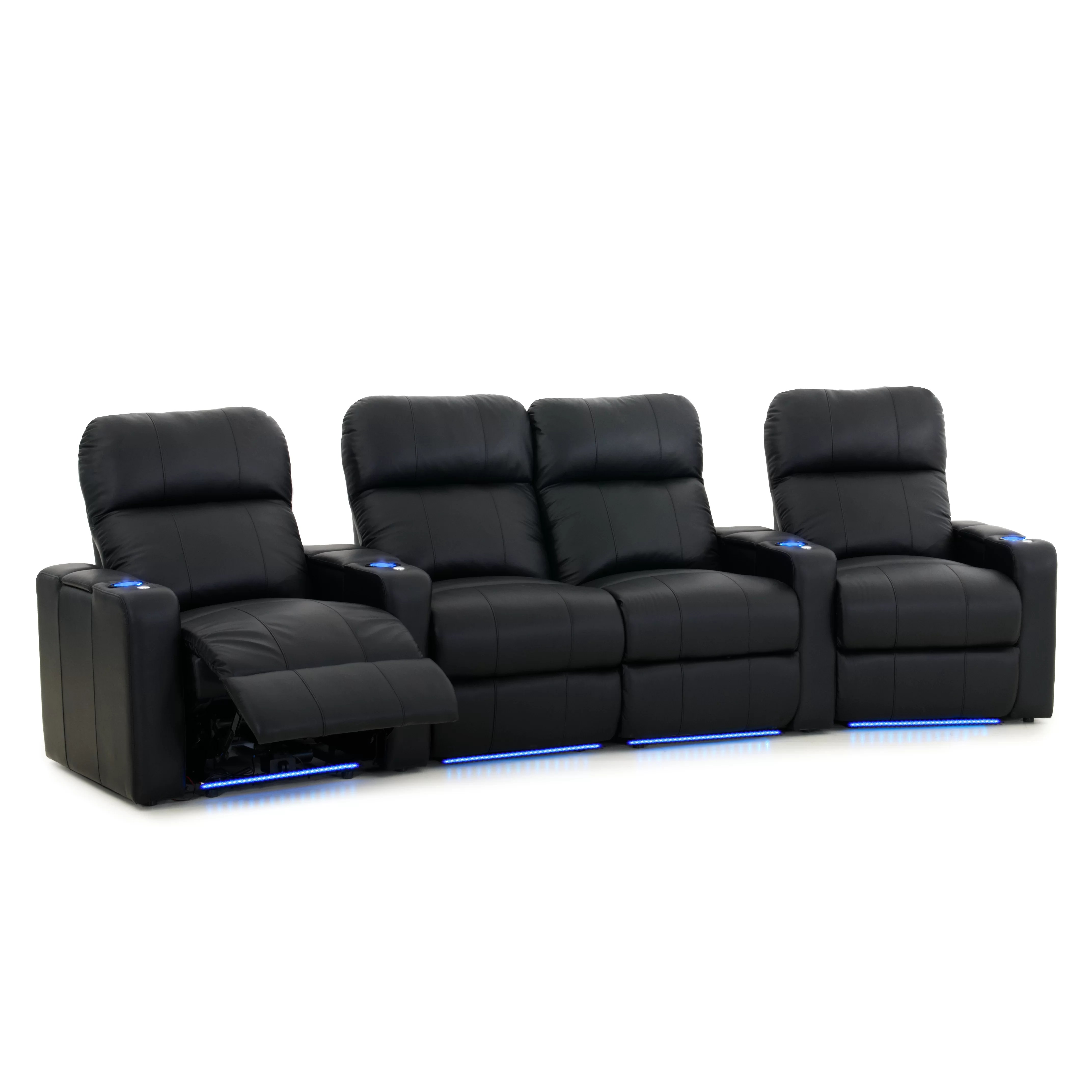 s turbo xl home theater loveseat row of octn l