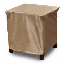 Budgeindustries Chelsea Square Outdoor Side Table Ottoman