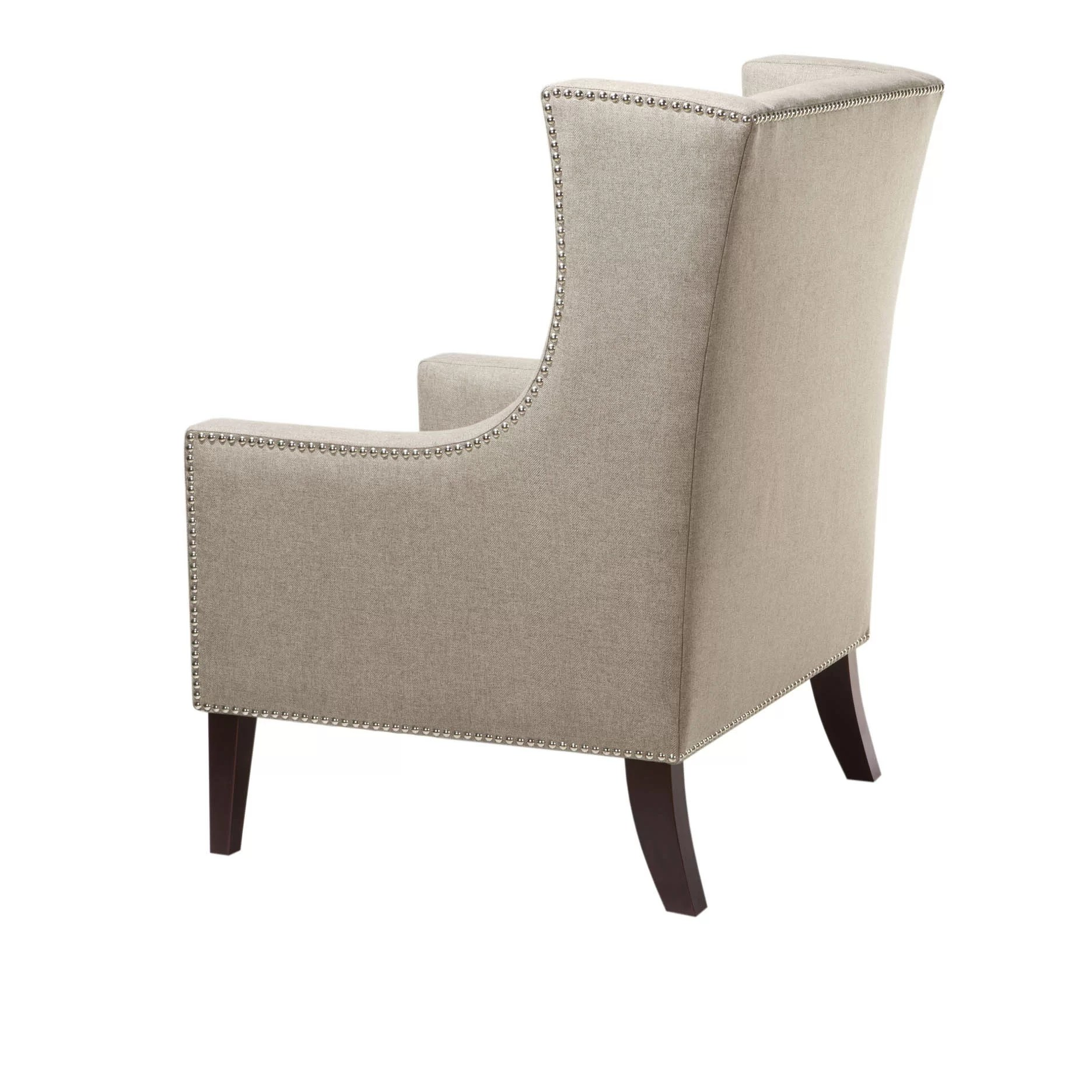 Barton Chair Madison Park Barton Wing Arm Chair And Reviews Wayfair