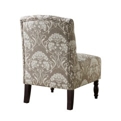 Tufted Side Chair Barrel Slipcover Pattern Madison Park Lola And Reviews Wayfair