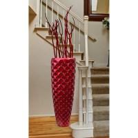 Uniquewise Modern Tall Floor Vase | Wayfair