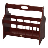 Uniquewise Classic Wooden Magazine Rack & Reviews | Wayfair.ca