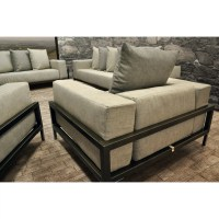 SolisPatio Nubis Deep Seating Sofa with Cushions | Wayfair