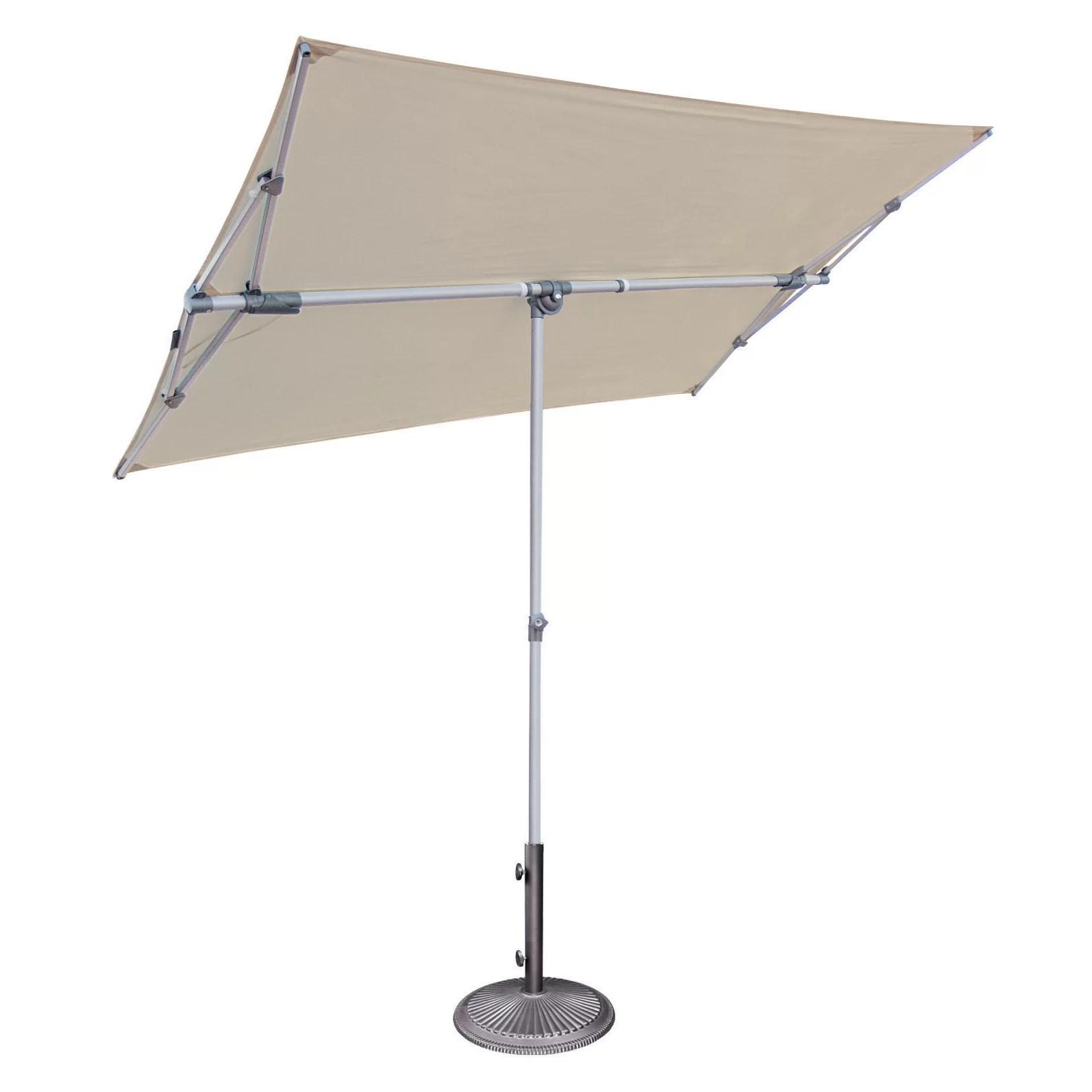 SimplyShade 5' x 7' Rectangular Market Umbrella & Reviews
