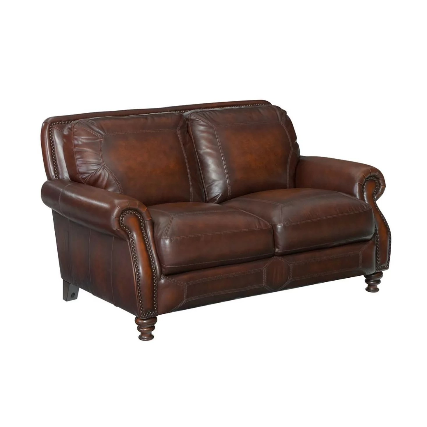 bailey leather sofa bed buy new york rosalind wheeler loveseat and reviews