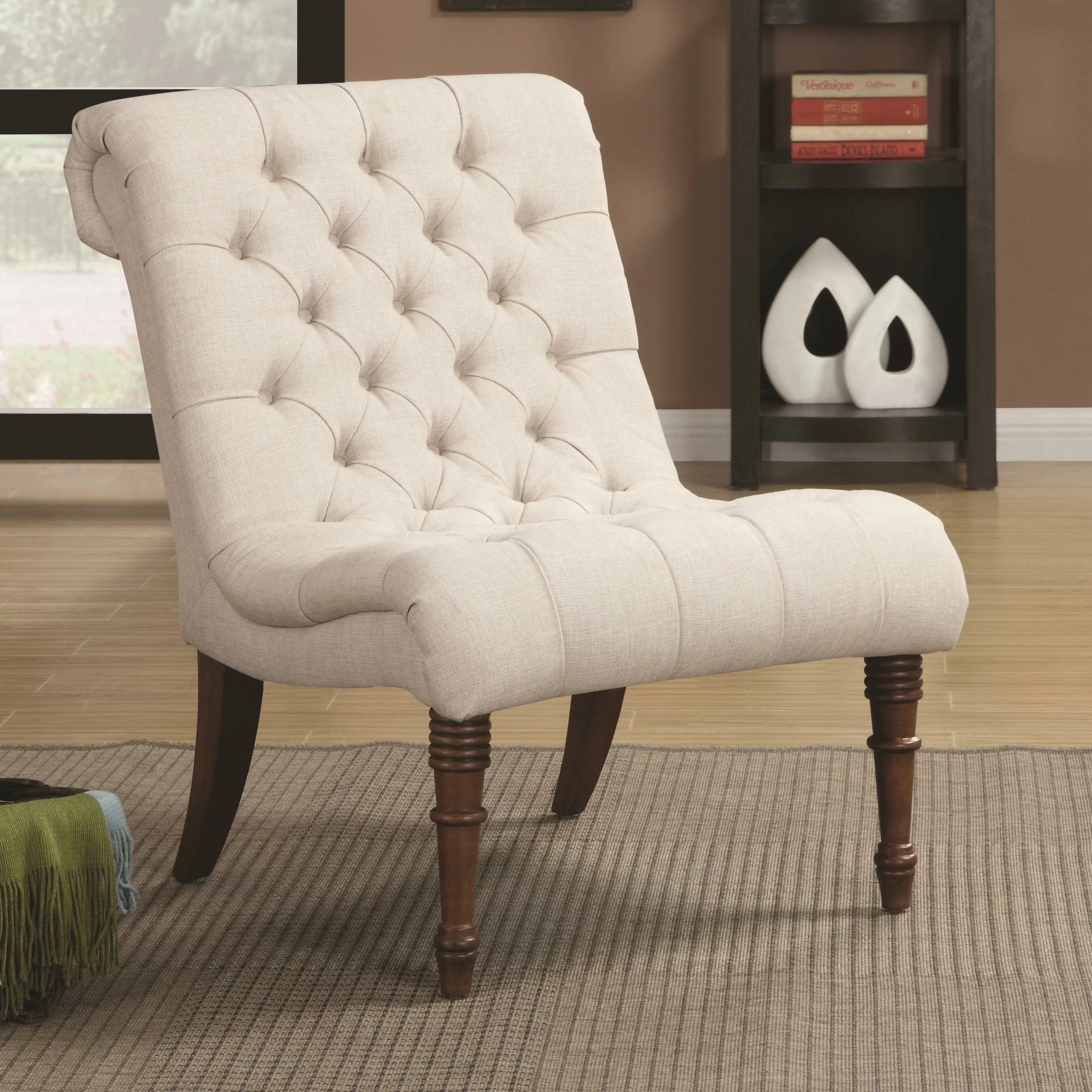 tufted side chair high back living room rosalind wheeler bottrell and reviews