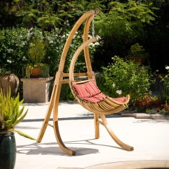 Swing Chair Home Town Travel High With Tray Bay Isle Calais And Reviews Wayfair