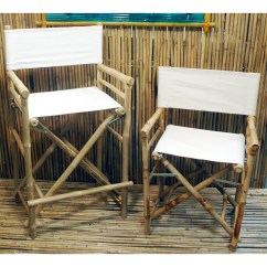 Bamboo Directors Chairs Bedroom Chair Thing Bay Isle Home Porter High Back Canvas Director