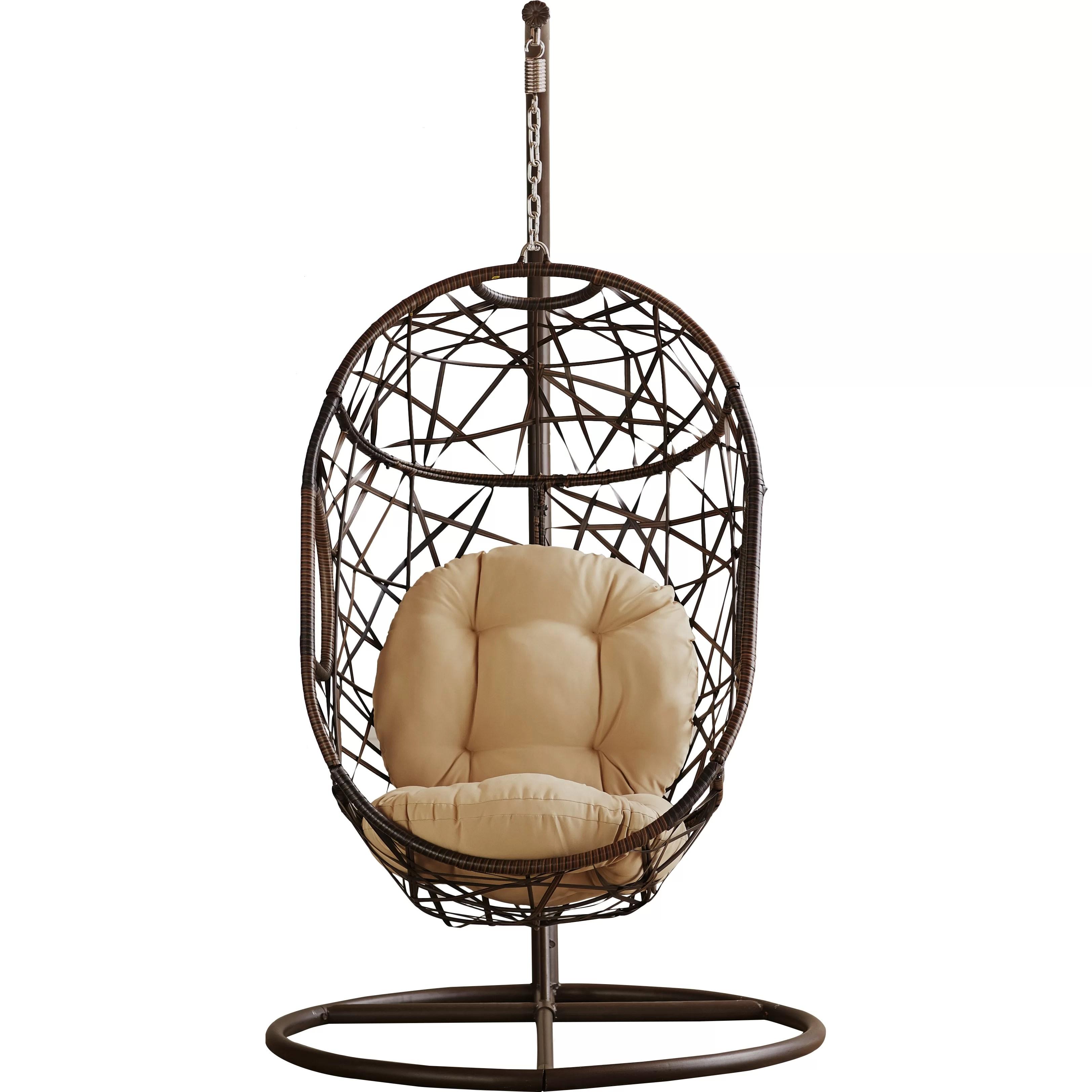 swing chair wayfair used herman miller aeron bay isle home duncombe hammock and reviews