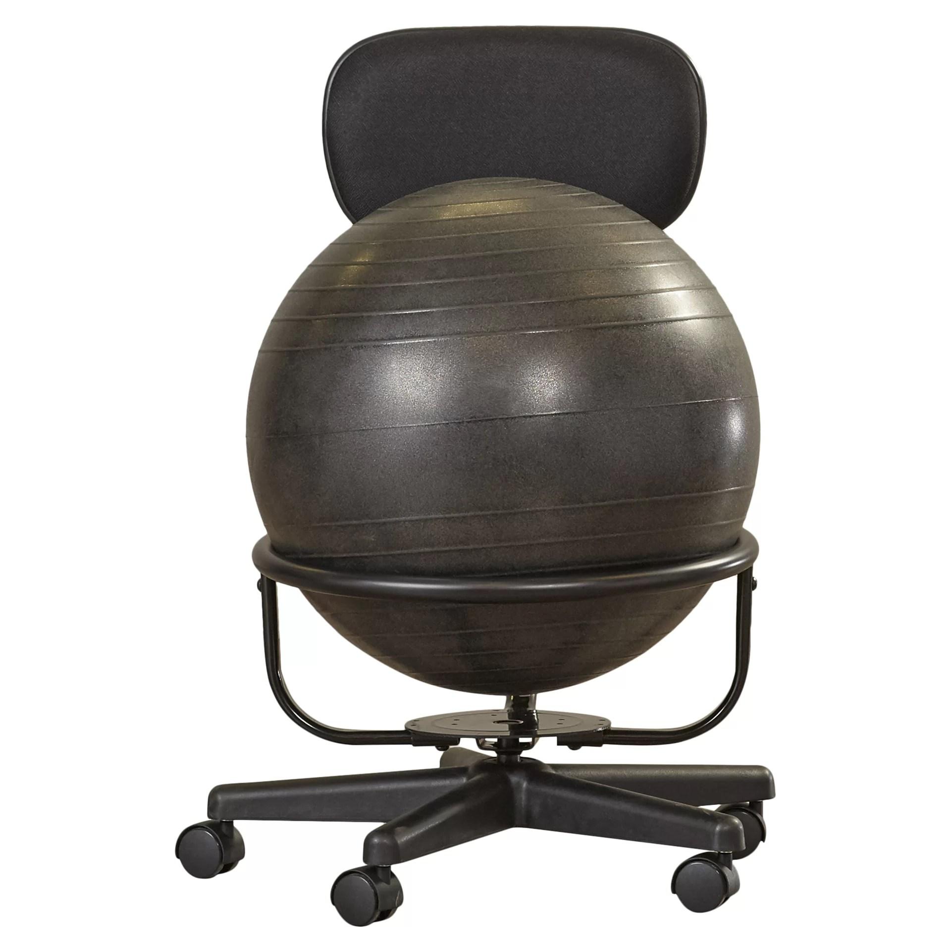 Symple Stuff Exercise Ball Chair  Reviews  Wayfairca