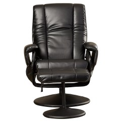 Reclining Chair With Ottoman Leather Hanging Bunnings Symple Stuff Heated Massage