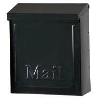Symple Stuff Locking Wall Mounted Mailbox & Reviews | Wayfair
