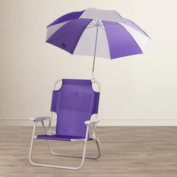 Beach Chair Umbrella with Kids