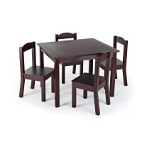 Zoomie Kids Samira Kids 5 Piece Table and Chair Set ...