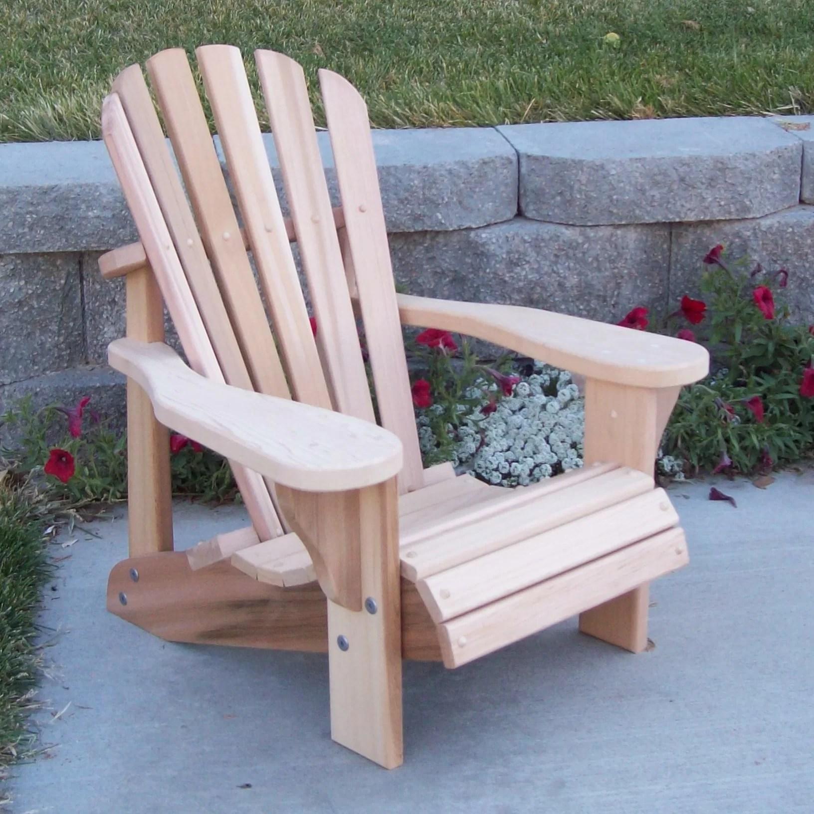 WoodCountry TL Childs Adirondack Chair  Wayfair