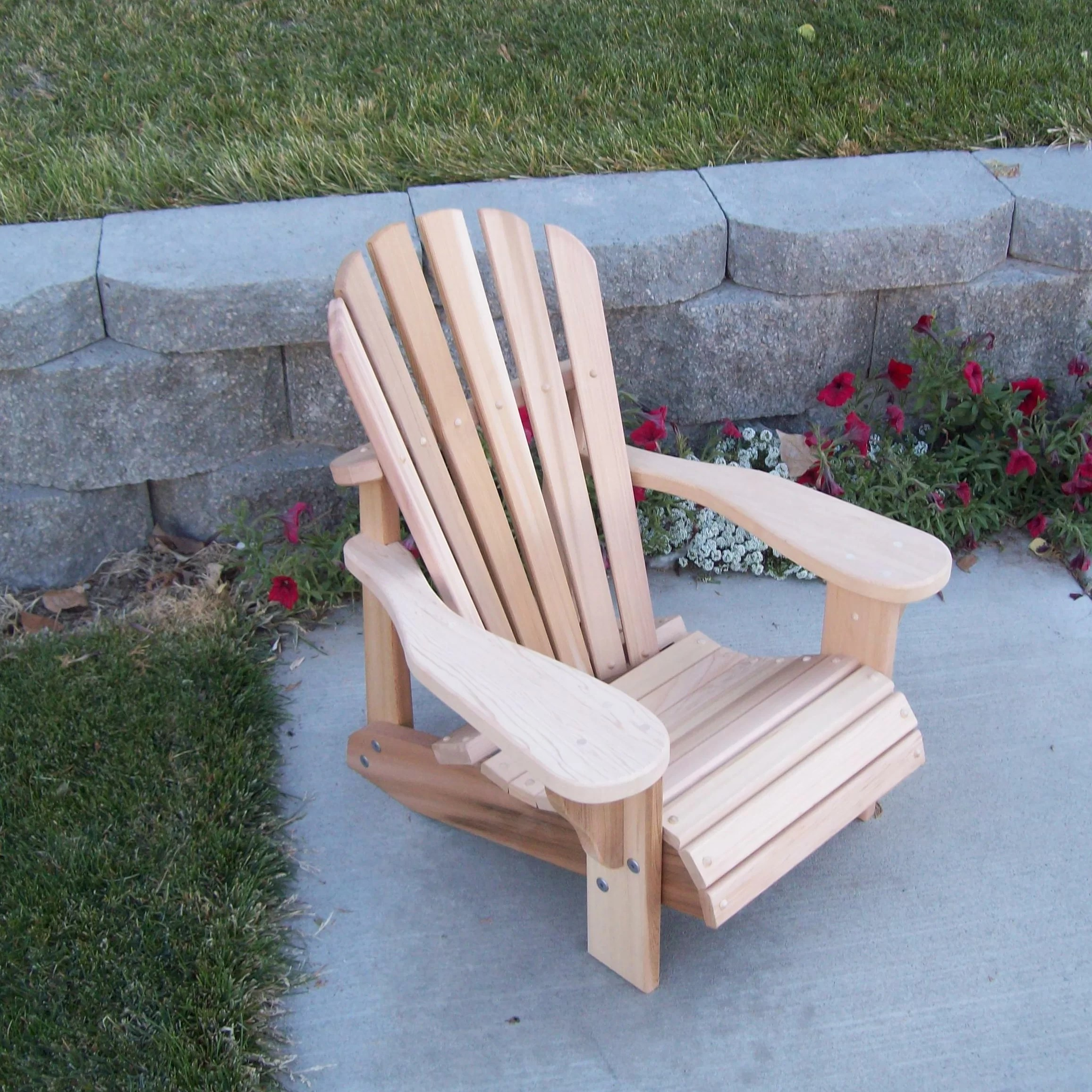 Kid Adirondack Chair Woodcountry T Andl Child 39s Adirondack Chair Wayfair