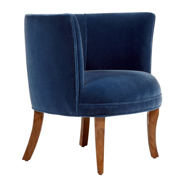 Jaxon Bella Upholstered Barrel Chair