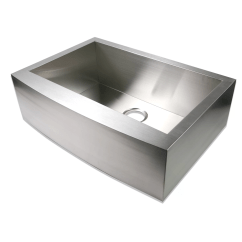 Stainless Steel Kitchen Sink Reviews 24 Inch Luxier 30 Quot X 21 Farmhouse Apron Single Bowl
