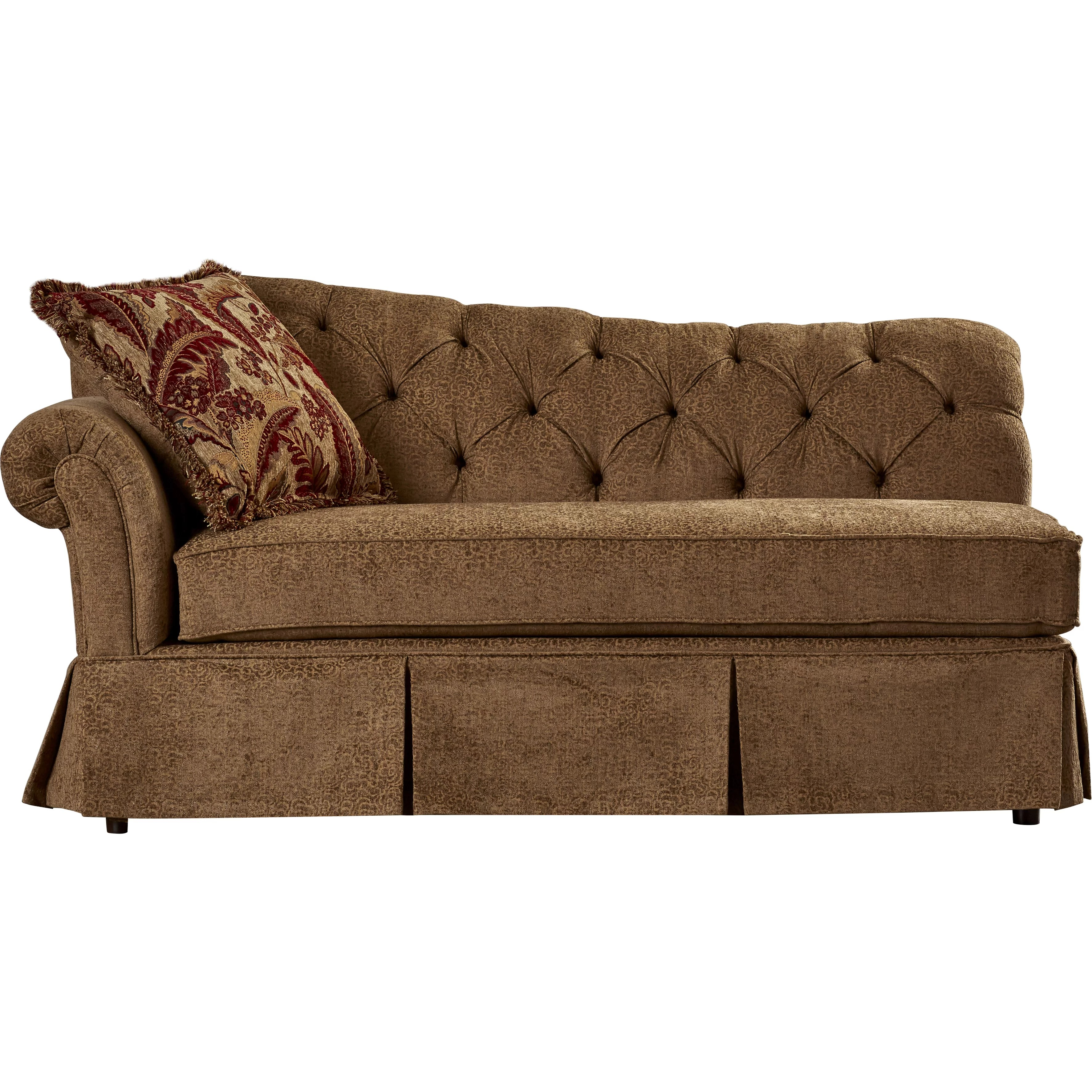 Astoria Grand John Upholstery Chaise Lounge & Reviews