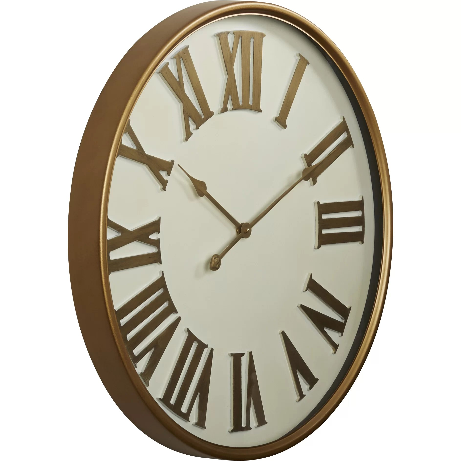 Mercer41 Oversized 27 Roman Numeral Wall Clock Amp Reviews