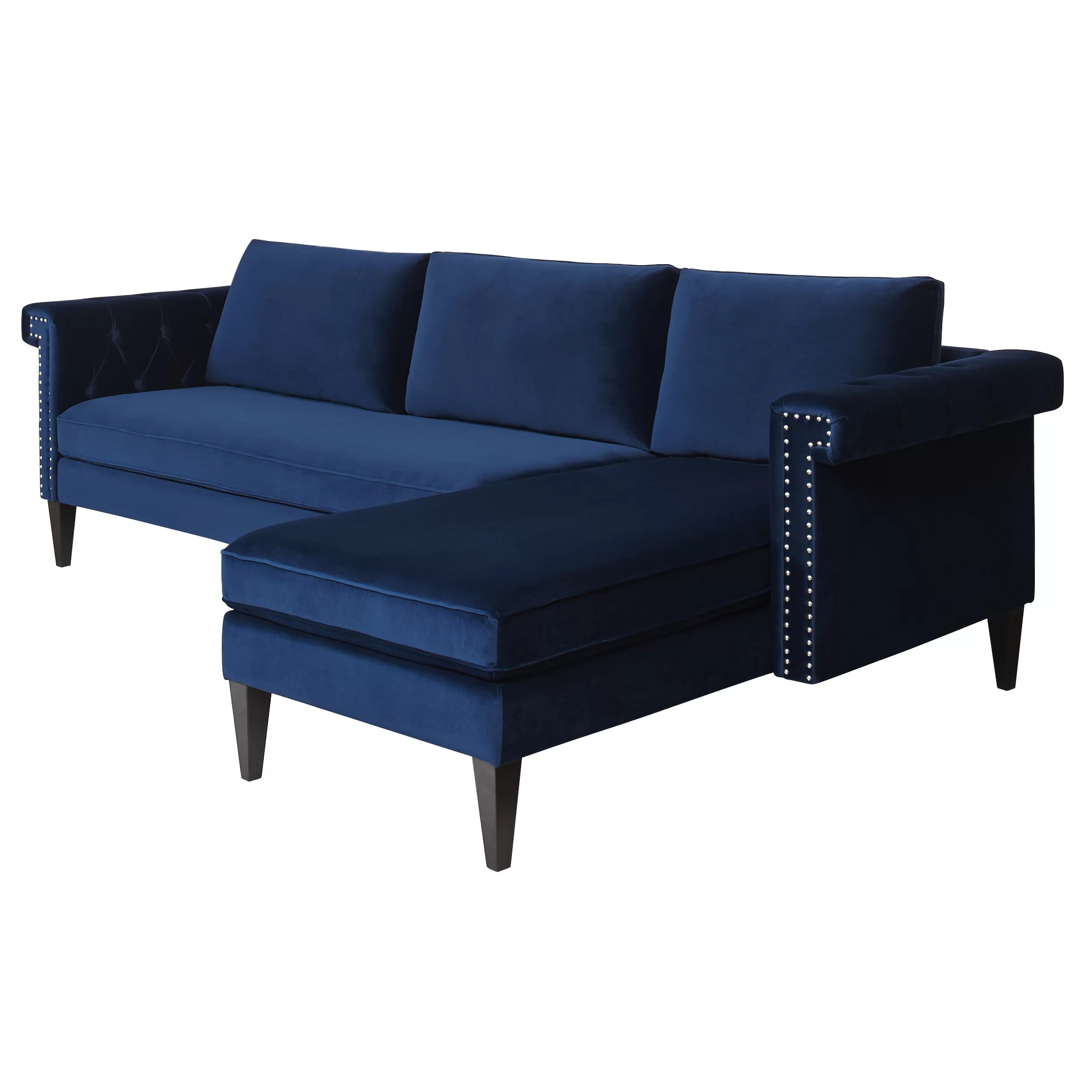 reversible sectional sofa chaise queen size click clack bed with storage mercer41 wigston and reviews