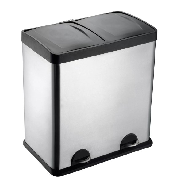 Step Sort 13 Gallon Step- Stainless Steel Trash