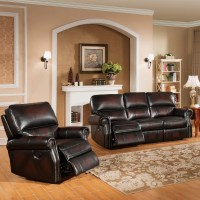 Amax Nevada 2 Piece Leather Living Room Set & Reviews ...